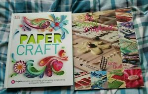 2 BOOKS - PAPER CRAFT and THE TEXTURED SCRAPBOOK