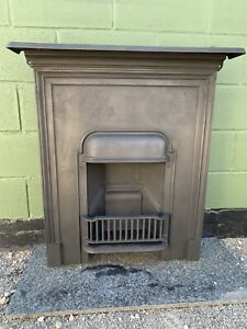 Original  Complete cast iron fireplace Fully Restored  Ready For Fitting £295