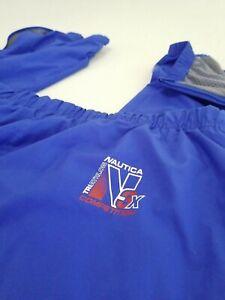 NAUTICA Triathlon Training Track Pants Mens COMPETITION 625 N3X Ankle Zip Sz XL