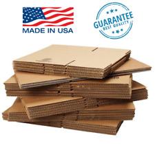 1 200 8x6x4 Cardboard Packing Mailing Shipping Corrugated Box Cartons Free Ship