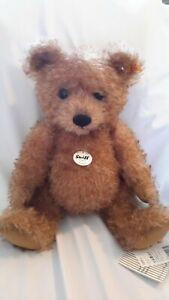 Steiff Teddy Bear Tommy Brown Bear 38cm 026812 Mohair Brand New