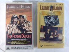 Laurel And Hardy 2 VHS Tapes - The Flying Duces - Comedy Classics