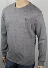 Polo Ralph Lauren Grey Long Sleeve Crew Neck Tee T-Shirt NWT