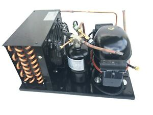 New Outdoor Condensing Unit 5/8 HP, R404A, Low Temp, 115V (Embraco NEK2150GK1)