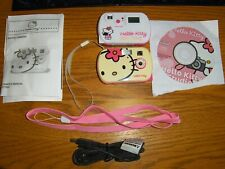 Hello Kitty Digital Camera Set of 2 With Disc Straps Cord and Manual