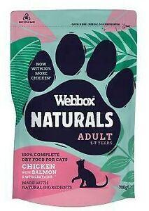 Webbox Naturals Adult Chicken With Salmon & Wholegrains 700g