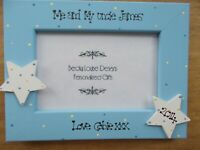 Me and My Uncle Personalised Photo Frame Keepsake Birthday Gift 6x4