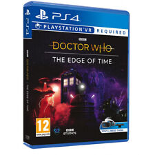 BBC Doctor Who The Edge of Time PlayStation 4 PS4 VR / PSVR Game (Age 12+)