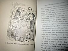 Artemus Ward; His Book- historical cartoons humor Civil War 1862-1st NY Carleton