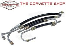 C2 C3 Corvette SB Power Steering Hose Kit 1963-1979 Small Block PS x2154