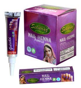 Instant Purple Nail Henna Mehandi Tube from Vimal Golecha Sehnaaz_UK Seller