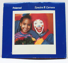 Polaroid Spectra 2 Instant Film Camera Manual Instructions Guide 1993