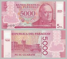 Paraguay 5000 Guaranies 2011 Polymer p234 unz.