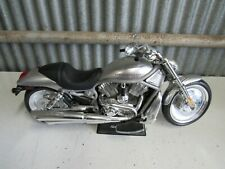 New Bright RC Motorcycle Harley Davidson V-Rod Silver No Remote or Charger