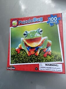 Puzzlebug jigsaw puzzle 100 Piece Frog  Bnib Free Post (acc264)