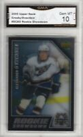 GMA 10 Gem SIDNEY CROSBY & ALEXANDER OVECHKIN 2005 Upper Deck Rookie Showdown!