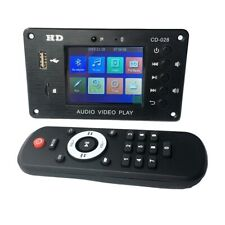 MP3 Decoder Board Bluetooth 5.0 Stereo Audio Receiver HD Video Player Car Audio