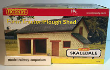 Hornby SKALEDALE - R8785 - FARM TRACTOR PLOUGH SHED - RARE TAKE A LOOK - NEW