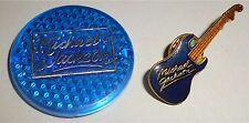 MICHAEL JACKSON - 1 PIN PIN'S GUITARE + 1 BADGE