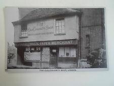 Vintage Postcard - The Old Curiosity Shop, London H Poole Waste Paper Merchant