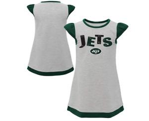 Outerstuff NFL Toddler Girls New York Jets First & Ten Cap Sleeve Dress