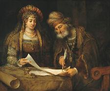 Ester y mardoqueo escribiendo la primera carta del purim de fondos B a3 00667