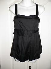 MARC BY MARC JACOBS Black Babydoll ZIP BACK Tank Top Size 2 US