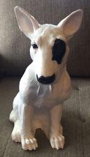 Vintage Universal Statuary 13� Bull Terrier Dog Statue Large Spuds Mackenzie