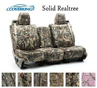 Coverking Custom Seat Covers Neosupreme Front Row - Solid Realtree Camo