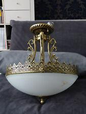 Deckenleuchte Messing Ø40cm  Deckenlampe Leuchte Jugendstil Jens Stolte Almuth