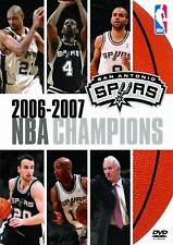 NBA Basketball Champions 2006-2007 San Antonio Spurs (DVD, 2007) FREE SHIPPING