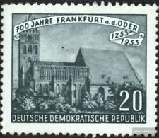 Ddr 359 fine used / cancelled 1953 700 yeArs FrAnkfurt A.D. Oder