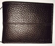 Cole Haan Men's Slim Billfold Chocolate Genuine Leather CHDM21009L Brown Wallet