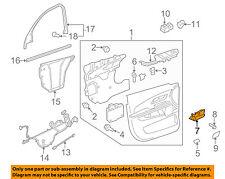 GM OEM-Interior Door Handle Left 22853825