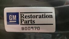 1978 - 1988 GM Restoration Cutlass HURST 442 DOOR WEATHERSTRIP SEALS