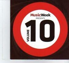 (DF464) Music Week Presents Volume 10, 8 tracks - 2011 CD