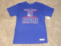 New York Rangers Mitchell & Ness Vintage Official NHL T-Shirt L (New)