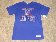 New York Rangers Mitchell & Ness Vintage Official Nhl T-Shirt M (New)