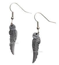BBC Doctor Dr Who Weeping Angel Wings Dont Blink Metal Fishhook Drop Earrings