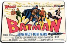 Adam West Burt Ward 1960's Batman TV Show Door Mat Rug