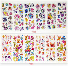 12pcs/lot 3D Stereoscopic Classic animationPVC Puffy Stickers Sheet Kids Gift
