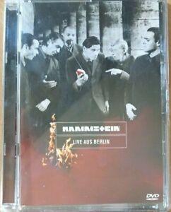 Rammstein Music Live AUS Berlin German Heavy Metal DVD ALL Region RARE VGC