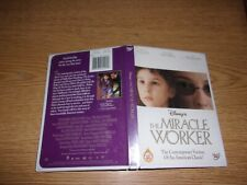 The Miracle Worker (DVD, 2001) WITH INSERT