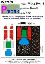 PM Mask 1:32 Canopy mask for Piper PA-18 for Revell  PK009