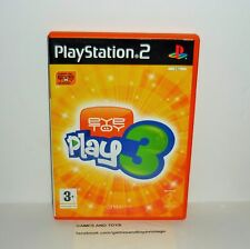 JEU PS2 COMPLET EYETOY PLAY 3