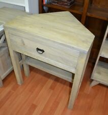 Rustic Mango hardwood  corner table  desk  timber tv stand