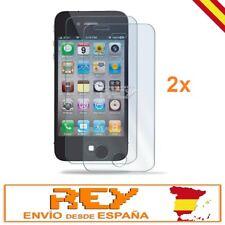 2x Pack Protectores Pantalla IPHONE 4 / 4S / 4C Cristal Templado Vidrio 2xp265