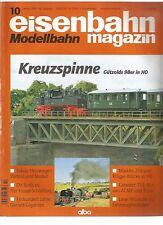EISENBAHN 10-2007 / KREUZSPINNE / HEIZWAGEN VORBILD UND MODELL / MARKLIN-218