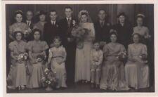 Social History Wedding Group RP Postcard #23, B579