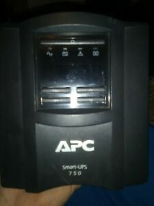 APC SmartUPS 750VA LCD Surge Protector Battery Backup w/ SmartConnect SMT750C ✅✅